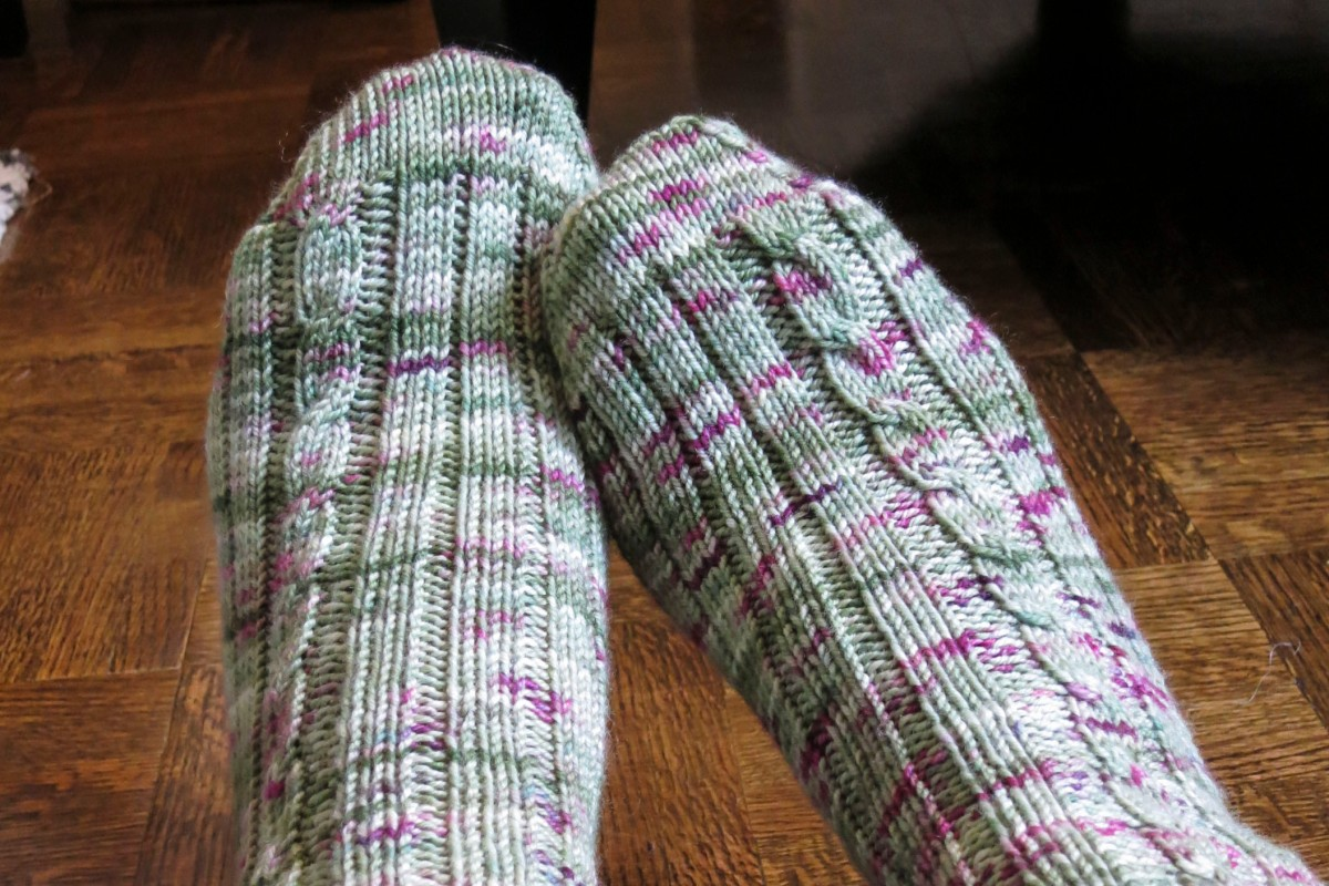 So Simple Sport-weight Socks Glenna Knits